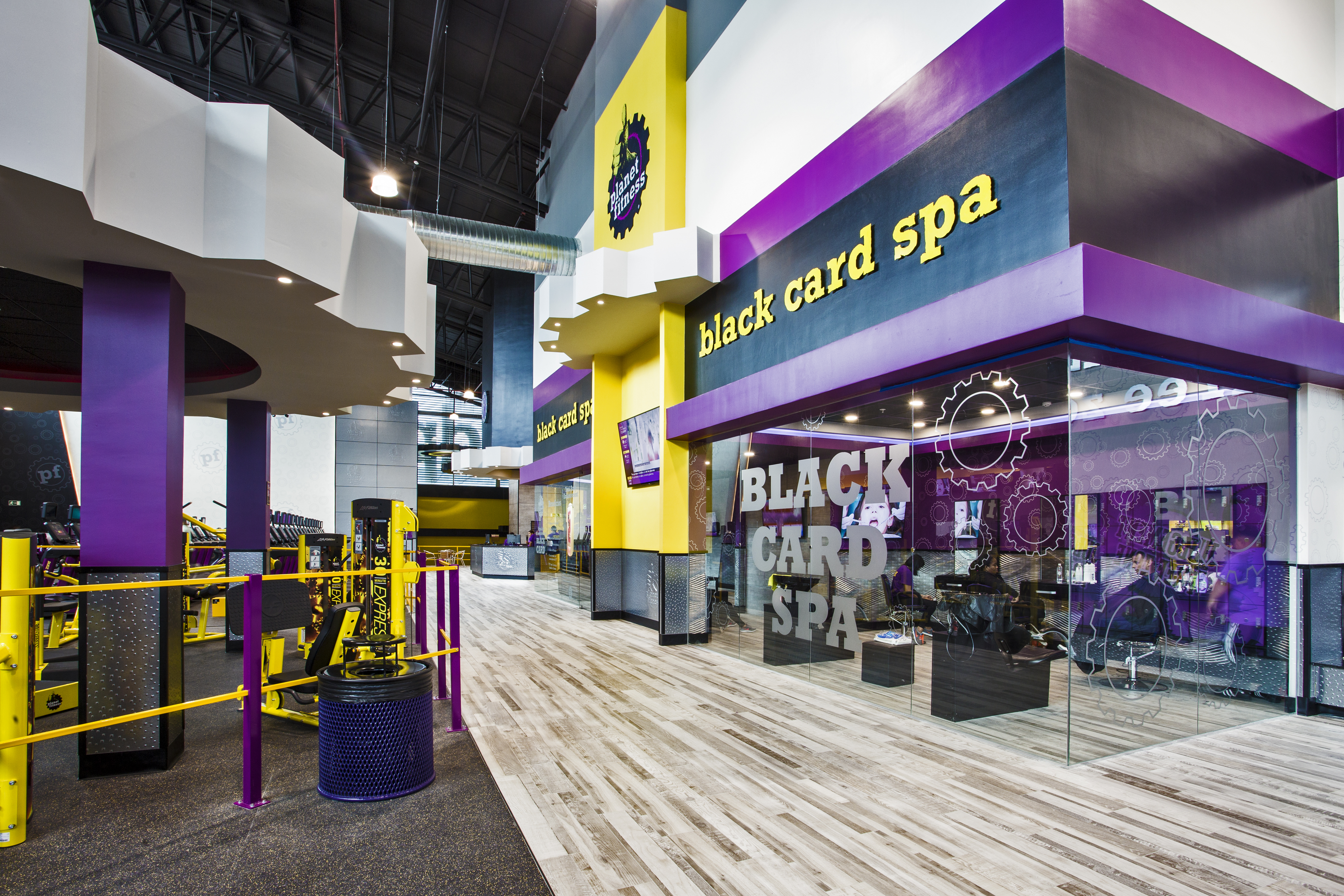 Completion Of The Planet Fitness At Centennial Mall And Plaza